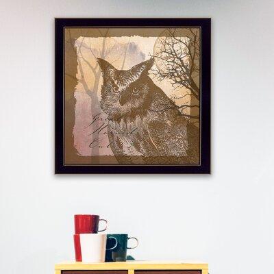 'Owl' Framed Graphic Art BT258-712
