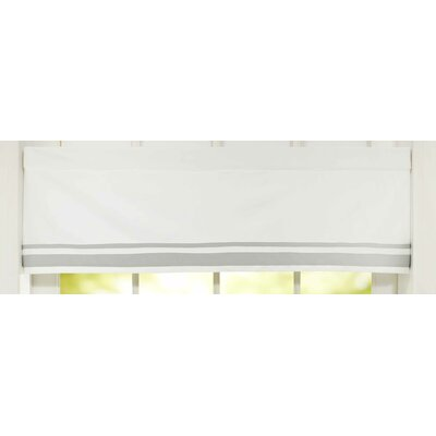 Classic Collection Window Valance Color: Grey
