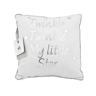 Just Born� Sparkle White Decorative Pillow