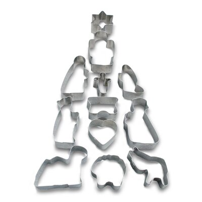 12 Piece Christmas Cookie Cutter Set