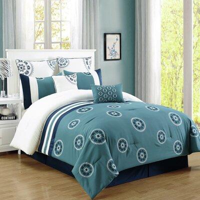 Lenny 8 Piece Comforter Set Size: Queen