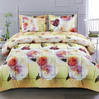 Whimy Comforter Set Size: King