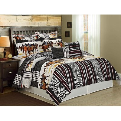 Knights 8 Piece Comforter Set Size: King