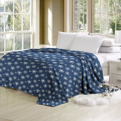 Blanchard Luxurious Oversized Printed Super Soft Plush Flannel Throw