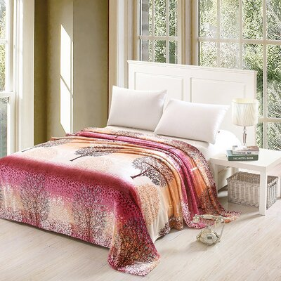 Capucine Luxurious Oversized Printed Super Soft Plush Flannel Throw