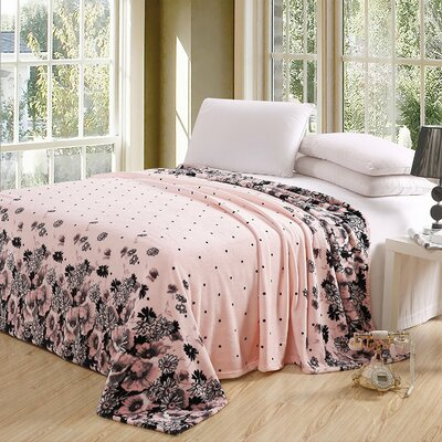 Chaya Luxurious Oversized Printed Super Soft Plush Flannel Throw