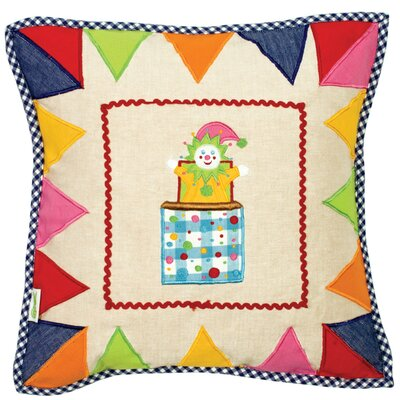 Toy Shop Throw Pillow Cover