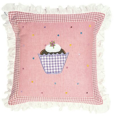 Gingerbread Cottage Throw Pillow Cover