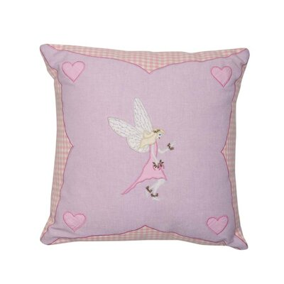Fairy Cottage Throw Pillow Cover