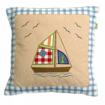 Beach House Throw Pillow Cover