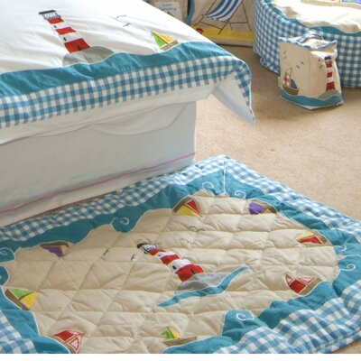 Beach House Floor Quilt Size: Large
