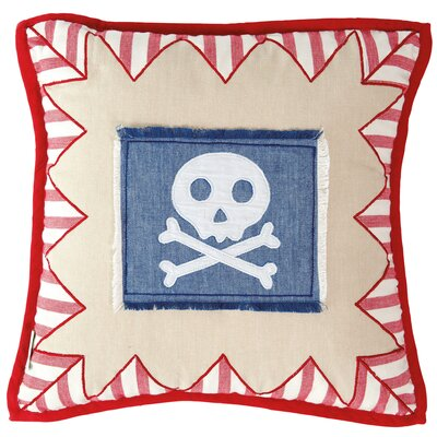 Pirate Shack Throw Pillow Cover