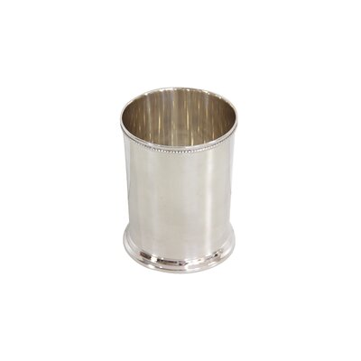 Julep Water with Bead Edge Silver Every Day Glass C1683