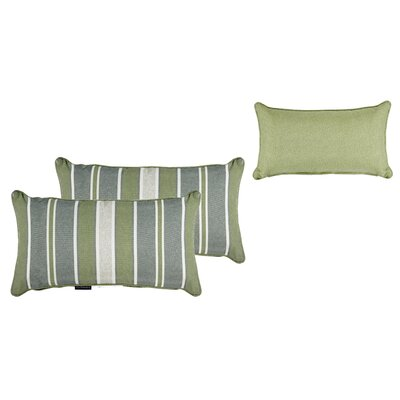 Outdoor Stripe Throw Pillow