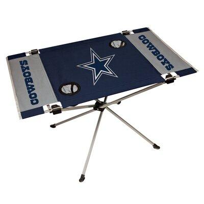 Rawlings NFL End Zone Tailgate Folding Table NFL Team: Dallas Cowboys 193989