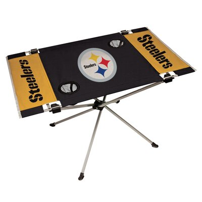 Rawlings NFL End Zone Tailgate Folding Table NFL Team: Pittsburgh Steelers 194005