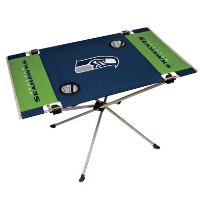 Rawlings NFL End Zone Tailgate Folding Table NFL Team: Seattle Seahawks 194007