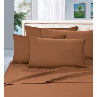 Luxury 1500 Thread Count Sheet Set Size: Twin, Color: Bronze