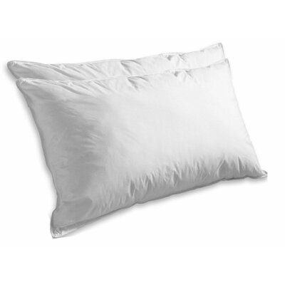 Super Soft Luxurious Goose Feathers Pillow Size: Standard
