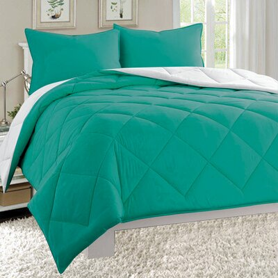 3 Piece Comforter Set Size: California King
