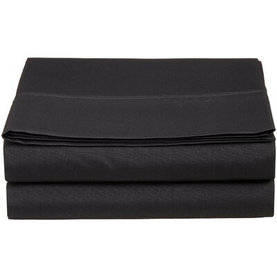 1500 Thread Count Fitted Sheet Color: Black