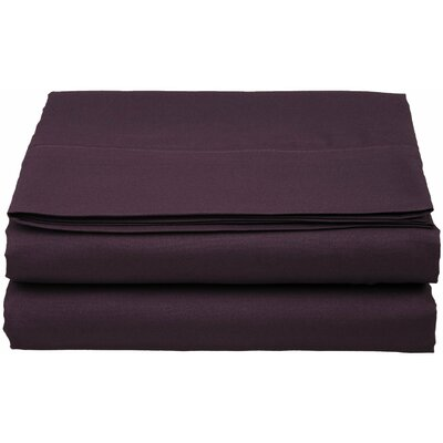 1500 Thread Count Fitted Sheet Color: Purple