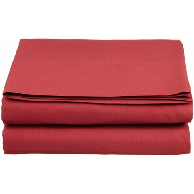 1500 Thread Count Fitted Sheet Color: Burgundy