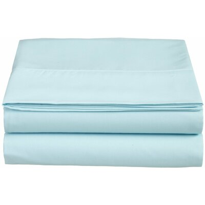1500 Thread Count Fitted Sheet Color: Aqua