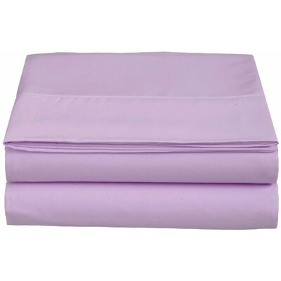 1500 Thread Count Fitted Sheet Color: Lilac