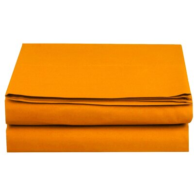 Fitted Sheet Color: Elite Orange