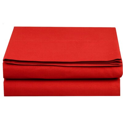 1500 Thread Count Fitted Sheet Color: Red