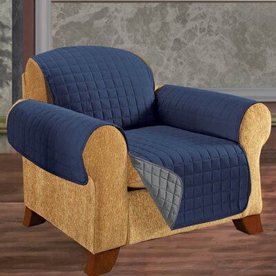 Chair Furniture Protector Upholstery: Navy Blue