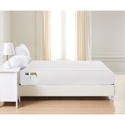 1500 Thread Count Fitted Sheet Color: White, Size: Queen