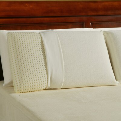 Ventilated Memory Foam Pillow Size: Queen