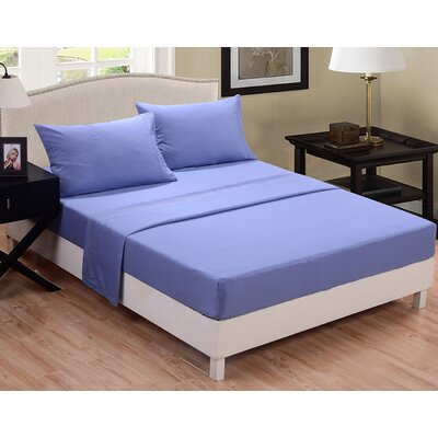 3 Piece Sheet Set Color: Light Blue, Size: Full