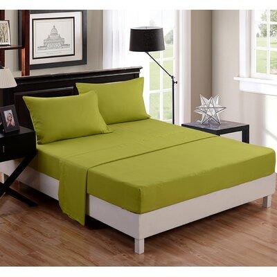 1500 Thread Count Sheet Set Color: Olive
