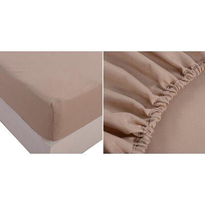 Sheet Set Color: Dark Cream, Size: King