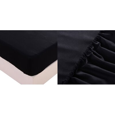 Sheet Set Color: Black, Size: King