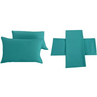 Sheet Set Size: Full/Double, Color: Turquoise