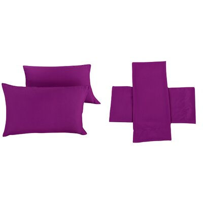 Sheet Set Color: Purple, Size: King