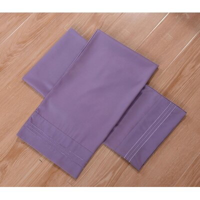 Honeymoon Bed Sheet Set Color: Purple, Size: Queen