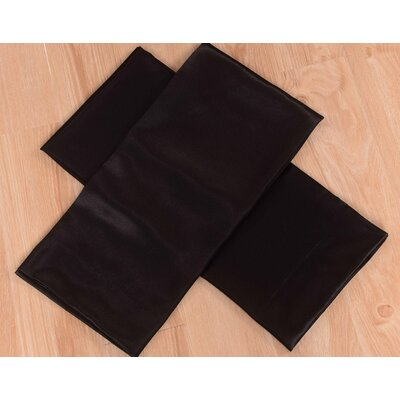 Honeymoon 4 Piece Bed Sheet Set Size: King, Color: Black