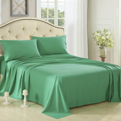 Honeymoon 3 Piece 1800 Collection Brushed Bed Sheet Set