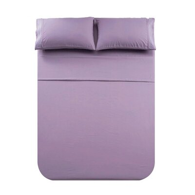 Manfredi 4 Piece Sheet set Color: Ligpur