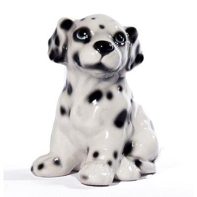 Sitting Dalmatian Dog Figurine ANI1243