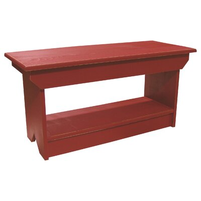 Coffee Table/Bench Finish: Old Red