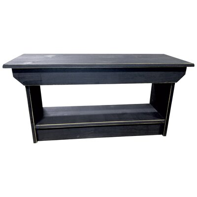 Coffee Table/Bench Finish: Old Black