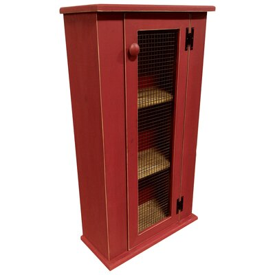 Jelly China Cabinet Top Finish: Red
