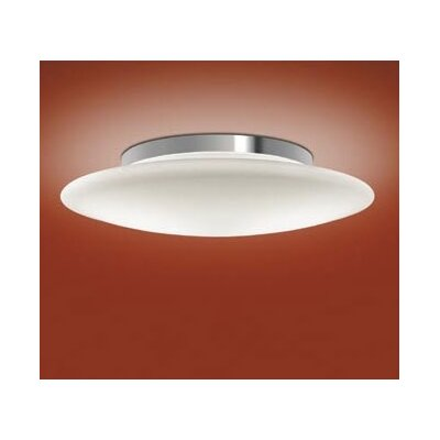 Aura Flush Mount Bulb Type: Incandescent