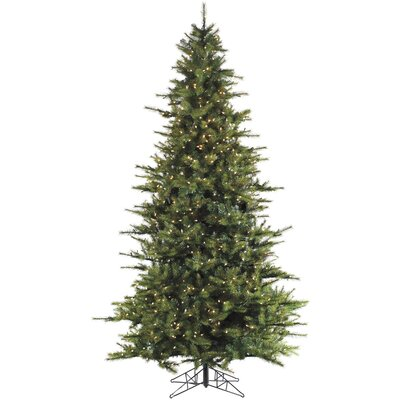 Southern Peace Pine 12' Green Artificial Christmas Tree with 1950 Smart String Lighting with Stand
